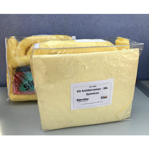 Spill Kit 30L antiderrames para productos químicos