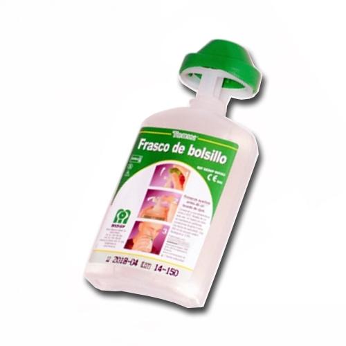 Frasco lavaojos con aplicador