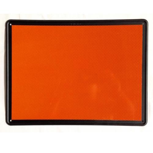panel naranja mercancias peligrosas ADR