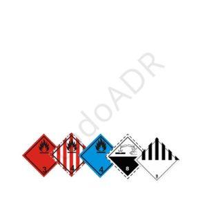 Kit ADR clase 3, 4.1, 4.3, 8 y 9
