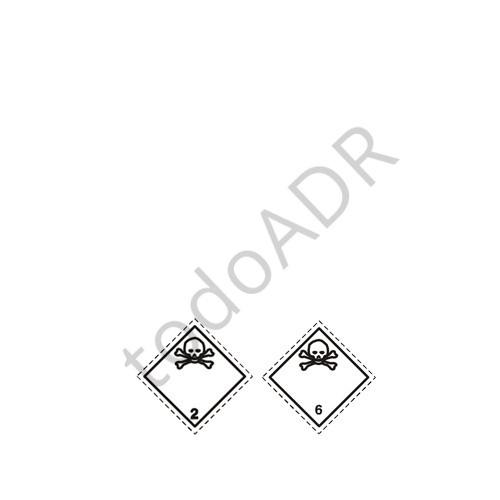 Kit ADR clase 2.3 y 6.1