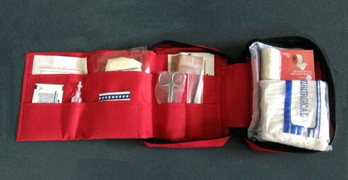 Botiquin primeros auxilios para el conductor