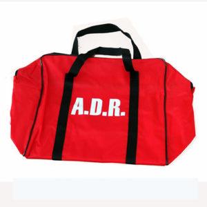 Bolsa roja ADR vacia