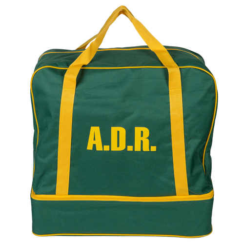 Bolsa ADR vacía con cubeto para conductores ADR
