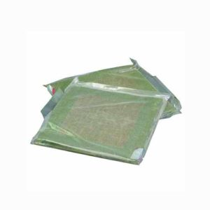 Compuesto obturador alfombras arcilla humedecida