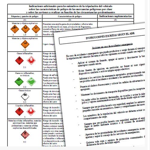Instrucciones Escritas Seguridad ADR 2017