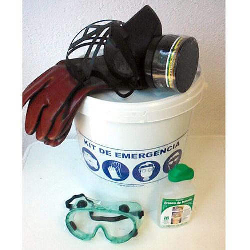 Kit EPIs básicos para productos químicos