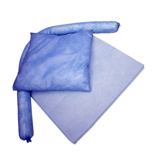 Set absorbentes de fibra para hidrocarburos