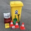 KIt Emergencia 240L para productos químicos e hidrocarburos