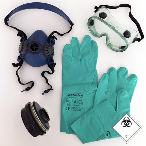 Elementos básicos protección contra infecciosos