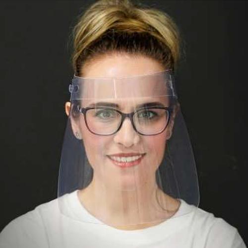 máscara de protección facial anticontagio