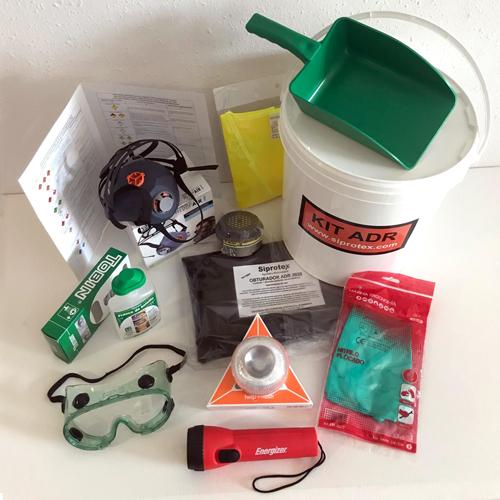 Kit ADR con baliza LED de emergencia